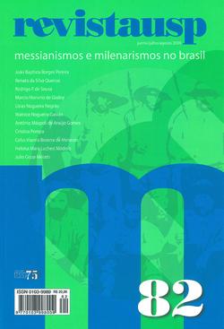 Capa da Revista USP que publicou dossiê sobre messianismo