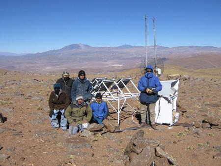 Foto: Instituto Argentino de Radioastronomía