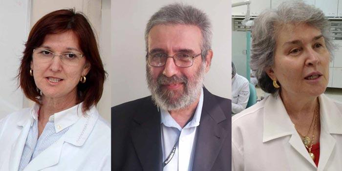 Maria Inês Pegoraro (esq.), Jorge Alves de Almeida Venâncio (meio) e Silvia Maria Graziadei (dir.)  Foto: Divulgação / HRAC