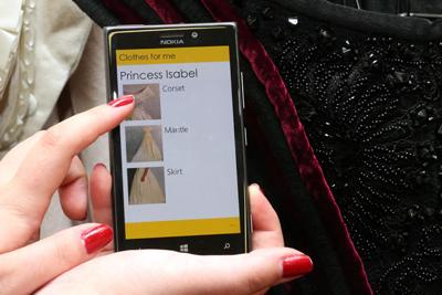 Aplicativo da EACH: produção de moldes de roupas automatizada Foto: Cecília Bastos/Jornal da USP