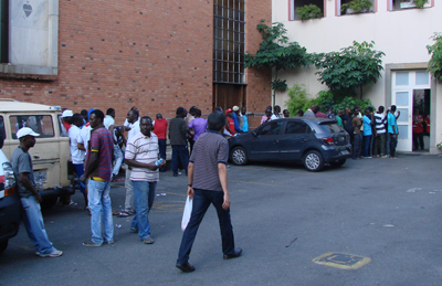 Haitianos em São Paulo | Foto: Paulo Hebmuller